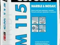 Клей для плитки Ceresit CM-115 «Mosaic & Marble». /25 кг