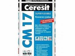 Клей для плитки ceresit СМ17 церезит