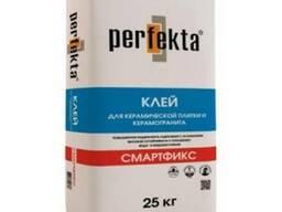 Клей для плитки и керамогранита Перфекта смартфикс