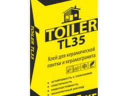 Клей для плитки и керамогранита Toiler