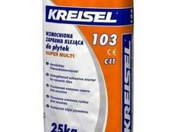 Клей для плитки Крайзель-103 (Kreisel) Харьков усиленный, 25
