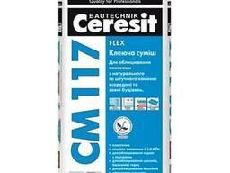 Клей для плитки СМ 117 25кг