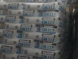 Клей для плитки СМ 117 25кг цена киев