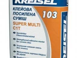 Клей для плитки усиленный Kreisel 103 Super, 25кг