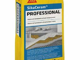 Клей для плитки высококачественный эластичный Sika Ceram Professional, 25 кг