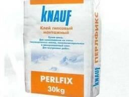 """Клей гипсовый """"Perlfix"""" гипсовая Кнауф (Knauf) 30 кг"""