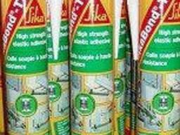Клей полиуретановый профессиональный SikaBond - T2, 300мл