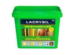 """Клей прозрачный Lacrysil """"Для пробки и бамбука"""" 1кг"""