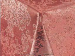 Клеёнка рулонная отрезная для стола Шелкография бордовая тм Guven, оригинал