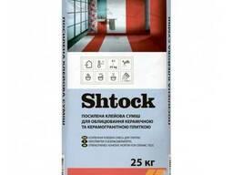 Клейова суміш посилена для керамограніта Шток (Shtock)