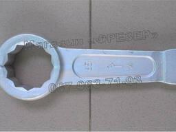 Ключ гаечный кольцевой односторонний ударный КГКУ 65 мм