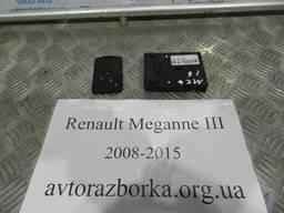 Ключ с иммобилайзером на Рено Меган 3