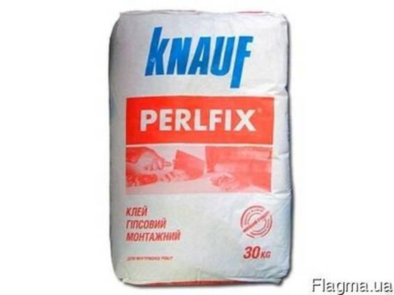 """Knauf Клей гипсовый """"Perlfix"""" гипсовая Кнауф 30 кг (40) (шт)"""