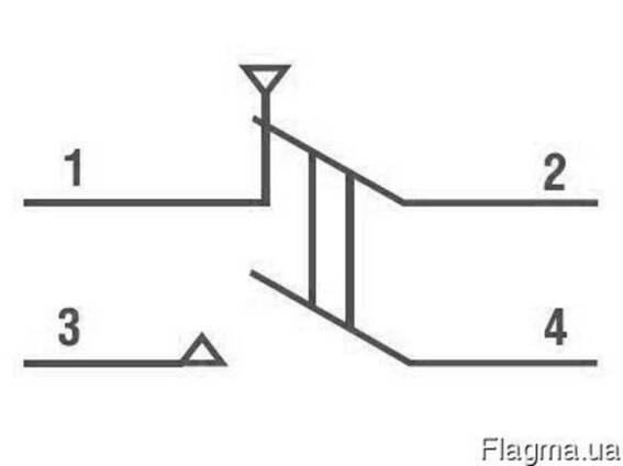 Кнопка управления КУО-3 (D=24мм)