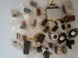 Кнопки, выключатели, переключатели, тумблеры, автоматы