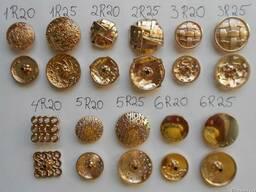 Кнопки-заклепки оптом диаметром 20мм и 25 мм