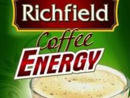 Кофе 3в1 растворимый ТМ Richfield в стиках.