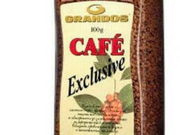 Кофе Грандос Эксклюзив растворимый 100 г в стеклянной банке