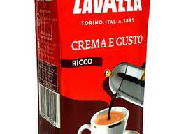 Кофе молотый Lavazza Crema e Gusto Ricco 250 г в цветной. ..