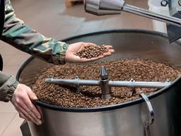 Кофе натуральный жареный в зернах 180грн