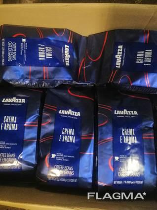 Кофе в зернах 1кг Lavazza Crema e Aroma (Лаваца Лаваза)
