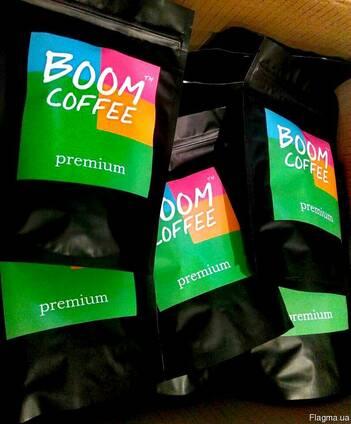 Кофе в зернах BoomCoffee 250г арабика 90/10 робуста