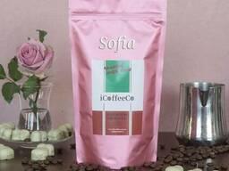 Кофе в зернах и молотый latte, cappucino SOFIA iCoffeeCo