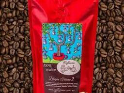 Кофе в зернах свежей обжарки Эфиопия Сидамо Gr 2 100 гр