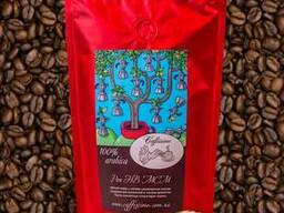 Кофе в зернах свежей обжарки Перу Cajamarca Selecto 100 гр