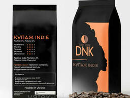 Кофе в зёрнах (50% арабика Індия Plantation AA, 50%. ..