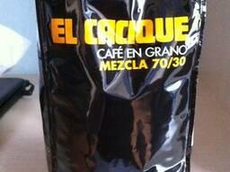 Kофе в зёрнах из Испании El Cacique