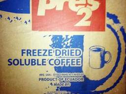 Кофе весовой растворимый сублимированный Ecuador ( Эквадор )