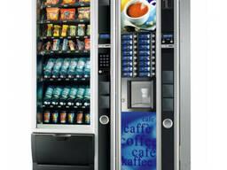 Кофейный и снековый автомат Necta Kikko MAX + Snakky MAX, бу