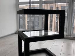 Кофейный Журнальный столик в стиле LOFT