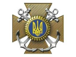 Кокарда на фуражку Военно-Морских Сил металл