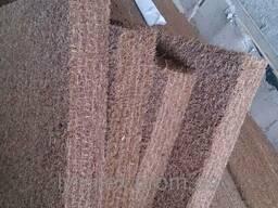 Кокосовая койра в рулонах для производства матрасов