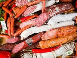 Колбасные изделия и деликатесы
