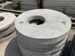 Крышки бетонные для колодцев (плиты перекрытия)