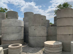 Кольца бетонные для колодцев, канализации, выгребной ямы, ЖБ - фото 7