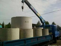 Кольца бетонные доставка установка цена в Николаеве