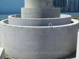 Кольца бетонные. Крышки. Днища. ФБС-блоки фундамента. Цемент