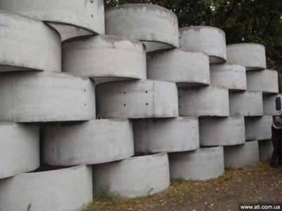 Кольца бетонные КС 0.8-7, КС 10-9, , КС 15-9, , КС 20-9
