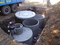 Септикы, кольца бетонные, киев и киевская обл