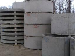 Кольца канализационные д. 1.5, высотой 0.6, 0.9 и 1.2