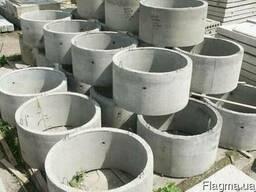 Канализационные бетонные кольца КС 20. 9 купить цена доставка