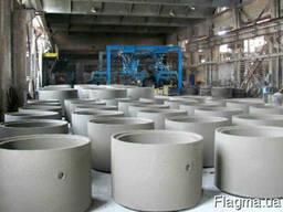 Канализационное кольцо бетонное КС 20. 9, КС 15. 9, КС 10. 9