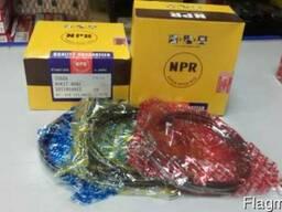 Кольца поршневые NPR (Япония) на Богдан, ISUZU 4HG1, 4НG1-Т