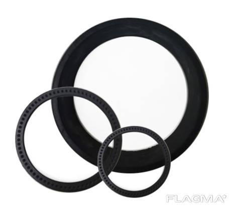 Кольца резиновые уплотнительные для асбестоцементной муфты