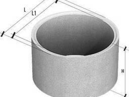 Кольца стеновые пазогребневые КСЕ 10-6 купить, цена