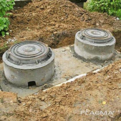 Выгребная яма, сливная яма, колодец